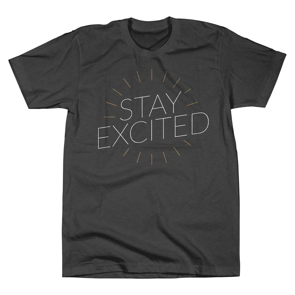 Corey-Siegel-Stay-Excited-T-Shirt-Front